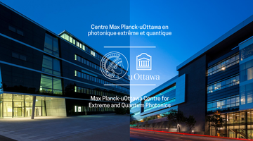 The buildings of the Max Planck - University of Ottawa Centre for Extreme and Quantum Photonics (MPC-EQP)